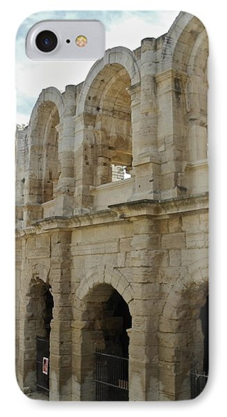IPhone Case featuring the photograph Roman Coliseum In Arles by Kirsten Giving