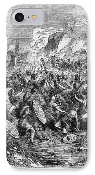 Roman Invasion Of Britain Phone Case by Granger