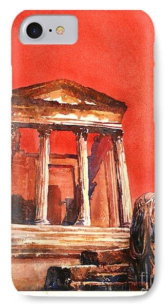 Roman Ruins- Tunisia Phone Case by Ryan Fox