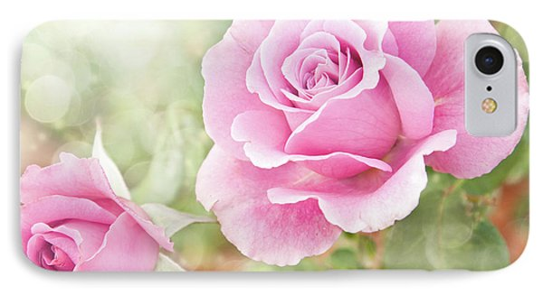 Romantic Roses In Pink IPhone Case