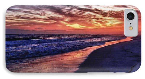 Romar Beach Sunset IPhone Case by Michael Thomas