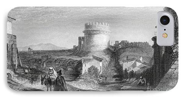 Rome: Appian Way, 1833 Phone Case by Granger