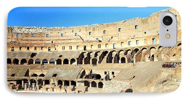 Rome Coliseum Phone Case by Valentino Visentini