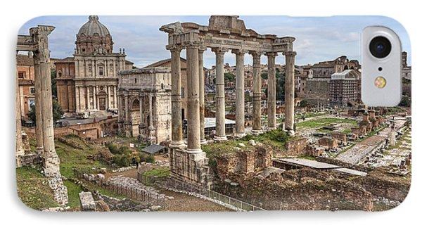 Rome Forum Romanum IPhone Case