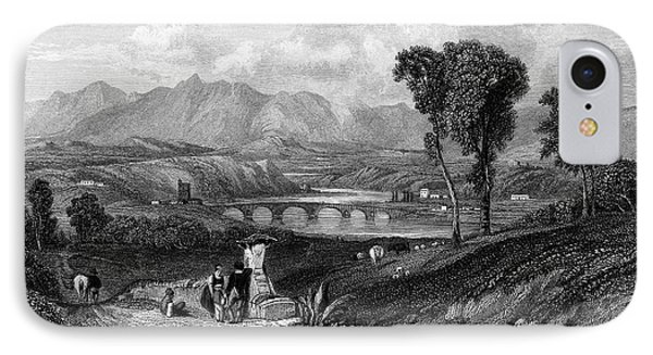 Rome: Milvian Bridge, 1833 Phone Case by Granger