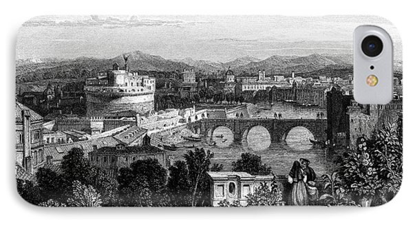 Rome: Scenic View, 1833 Phone Case by Granger