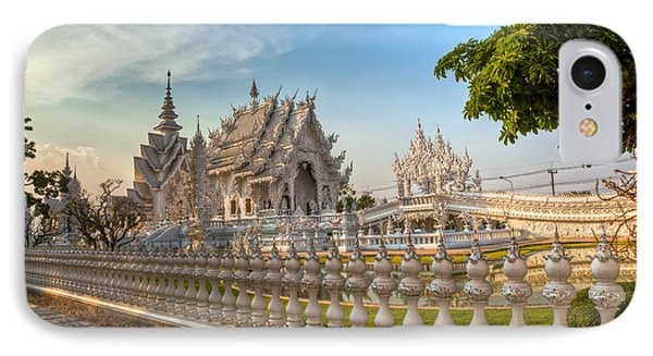 Rong Khun Temple Phone Case by Adrian Evans
