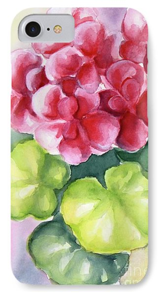 IPhone Case featuring the painting Room Plant by Inese Poga