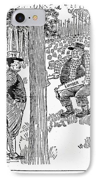 Roosevelt Cartoon, 1900s Phone Case by Granger