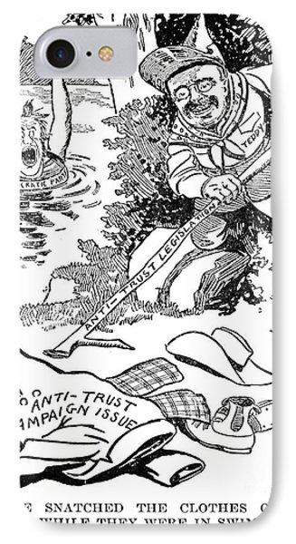 Roosevelt Cartoon, 1902 Phone Case by Granger