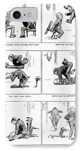 Roosevelt Cartoon, 1905 Phone Case by Granger