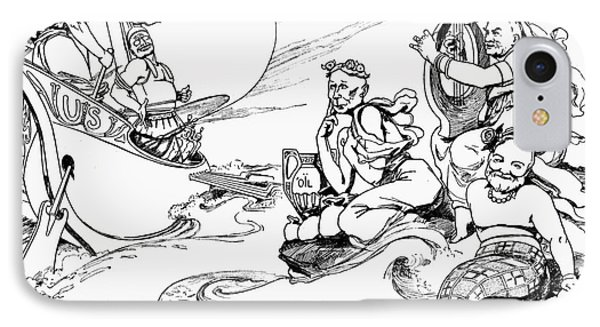 Roosevelt Cartoon, 1907 Phone Case by Granger
