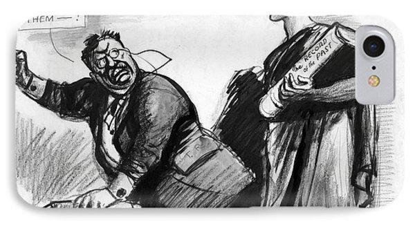 Roosevelt Cartoon, C1916 Phone Case by Granger