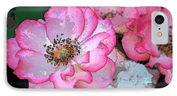 Rose 129 Phone Case by Pamela Cooper