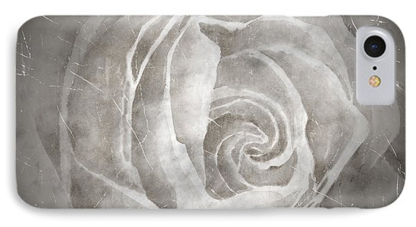Rose Blanche IPhone Case