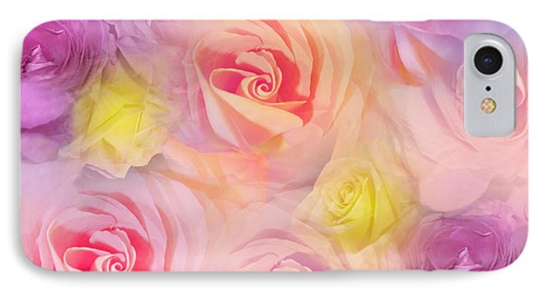 Rose Bouquet Phone Case by Cindy Lee Longhini