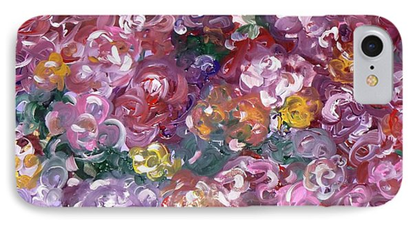 IPhone Case featuring the painting Rose Festival by Alys Caviness-Gober