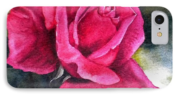 IPhone Case featuring the painting Rosenberger Rosa Family Rosaceae by Sandra Phryce-Jones