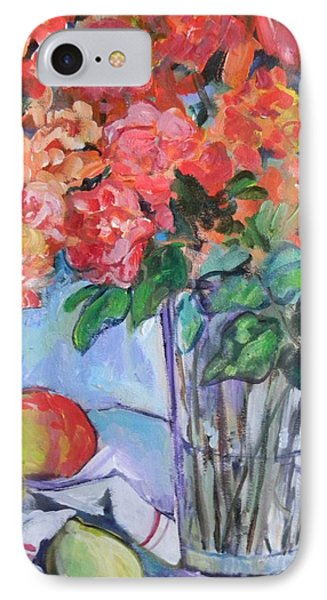 Roses And Peaches Phone Case by Carol Mangano