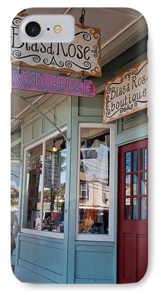 Rose's Closet - Paia Phone Case by Paulette B Wright
