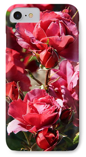 IPhone Case featuring the photograph Roses by Kerri Ligatich