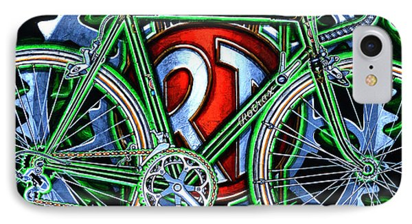 IPhone Case featuring the painting Rotrax by Mark Howard Jones