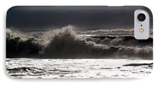 Rough Waves 2 IPhone Case by Deborah Hughes
