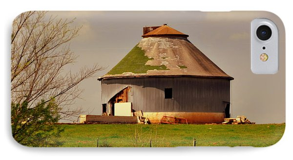 Round Barn Phone Case by Marty Koch