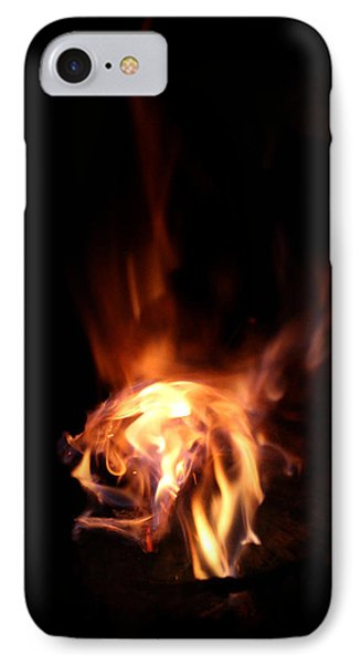 Round Heat Phone Case by Adam Long