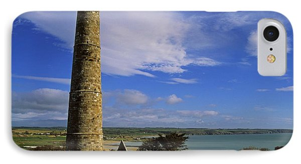Round Tower, Ardmore, Co Waterford Phone Case by The Irish Image Collection