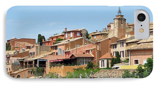 IPhone Case featuring the photograph Roussillon In Provence by Carla Parris