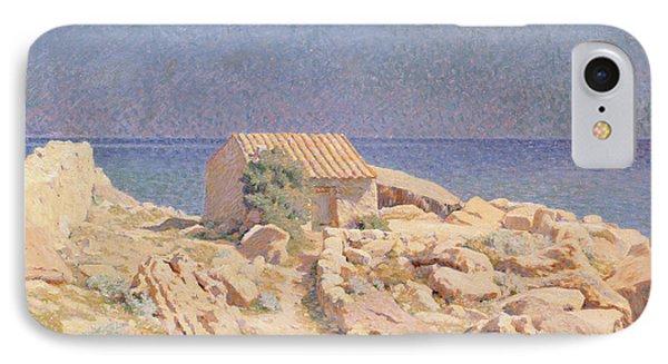 Roussillon Landscape Phone Case by Georges Daniel de Monfreid