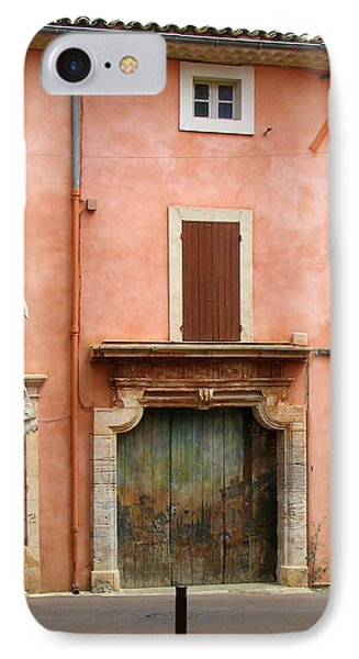 Roussillon Painted Door Phone Case by Carla Parris
