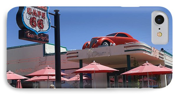 Route 66 Cruisers Williams Arizona Phone Case by Bob Christopher
