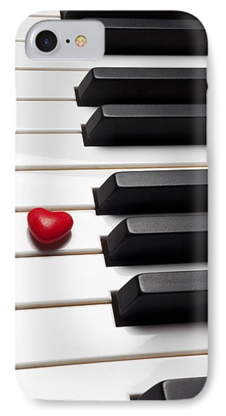 Row Of Piano Keys Phone Case by Garry Gay
