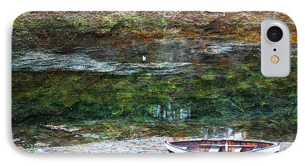 Rowboat In The Slough IPhone Case by Michele Cornelius