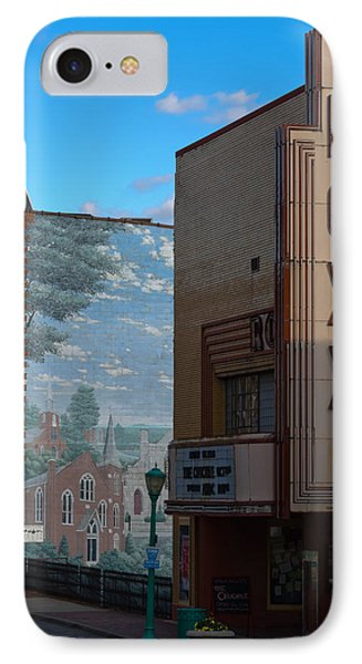 Roxy Theater And Mural Phone Case by Ed Gleichman