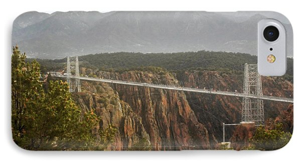 Royal Gorge Bridge Colorado - The World's Highest Suspension Bridge Phone Case by Christine Till
