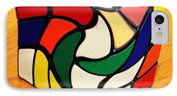 Rubik's Revenge IPhone Case by Cameron Bentley