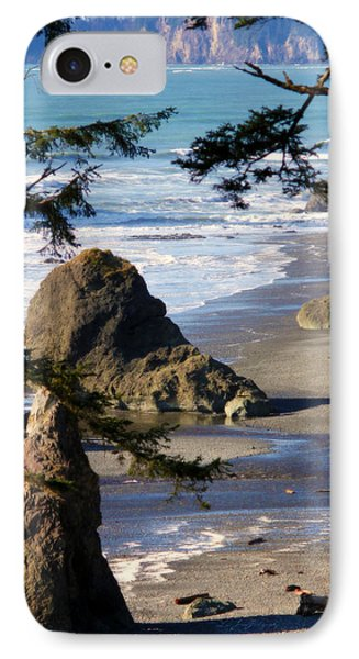 IPhone Case featuring the photograph Ruby Beach Iv by Jeanette C Landstrom