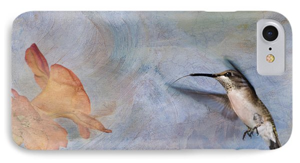 Ruby Throated Hummingbird 2 Phone Case by Betty LaRue