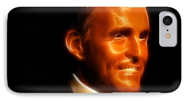 Rudy Giuliani - Rudolph William Louis Giuliani Phone Case by Lee Dos Santos