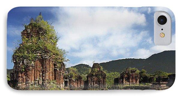 Ruins Of Hindu Temples Phone Case by Skip Nall