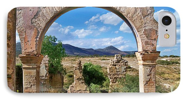 IPhone Case featuring the photograph Ruins Of Mineral De Pozos by John  Kolenberg