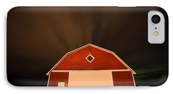 Rural Barn Night Photograhy IPhone Case