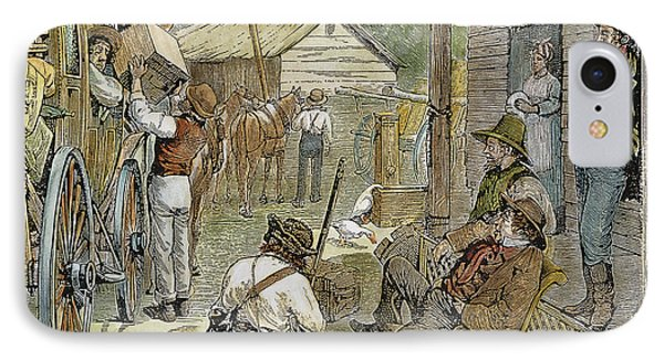 Rural Coach Stop, 1842 Phone Case by Granger