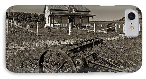 Rural Ontario Sepia Phone Case by Steve Harrington