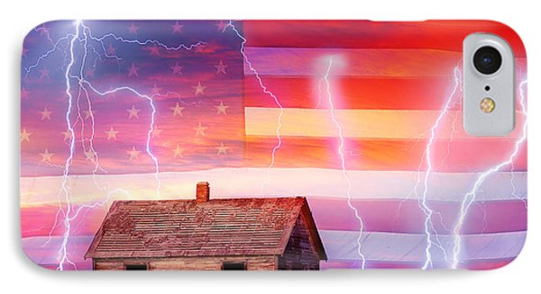 Rural Rustic America Storm Phone Case by James BO  Insogna