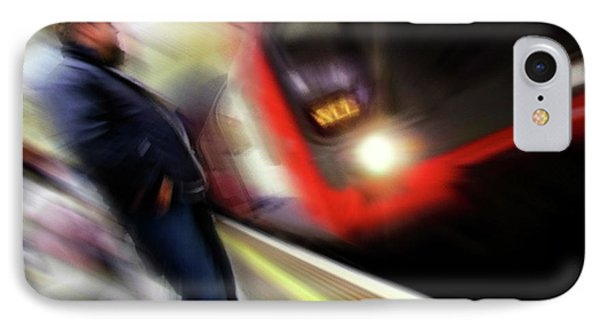 IPhone Case featuring the photograph Rush by Richard Piper