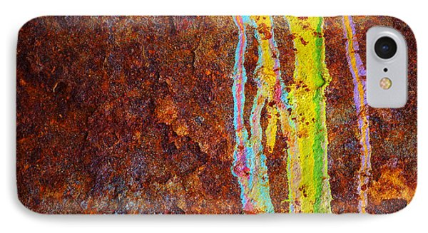 Rust Background IPhone Case by Carlos Caetano
